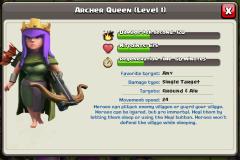 Archer Queen Altar coc