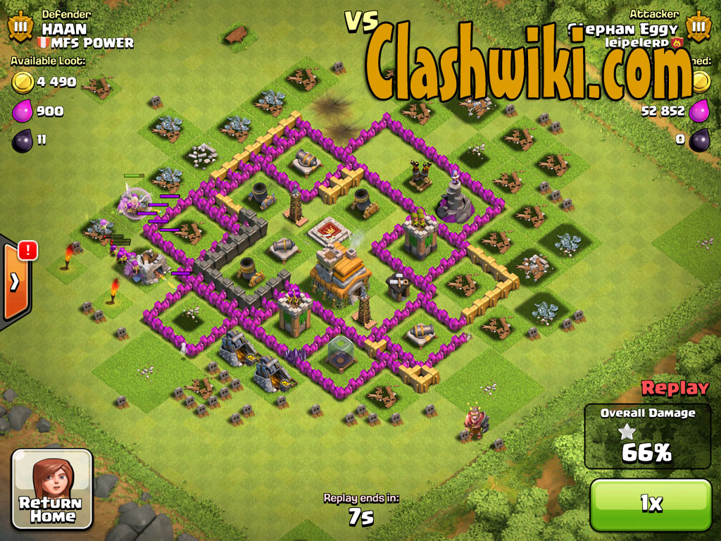 Clash Of Clans Barbarian King And Archer Queen Your barbarian king