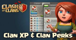 Clan xp and clan level perks coc