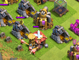 Full Gold and elixir mines
