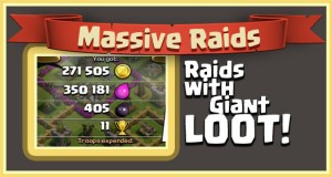 massive raids coc