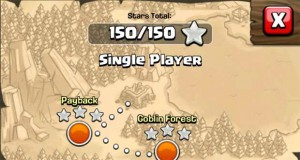 single player levels clash of clans