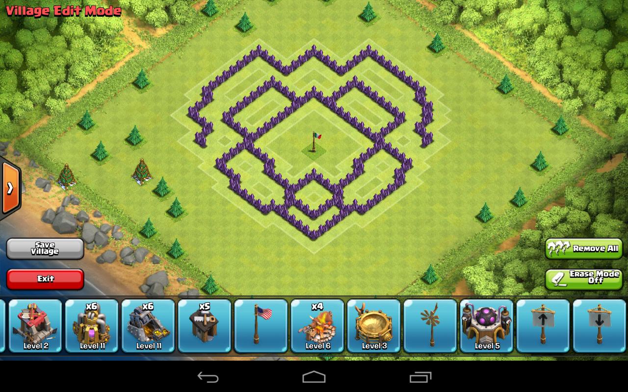TH7 Farm design only walls