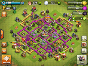 TH8 farming base