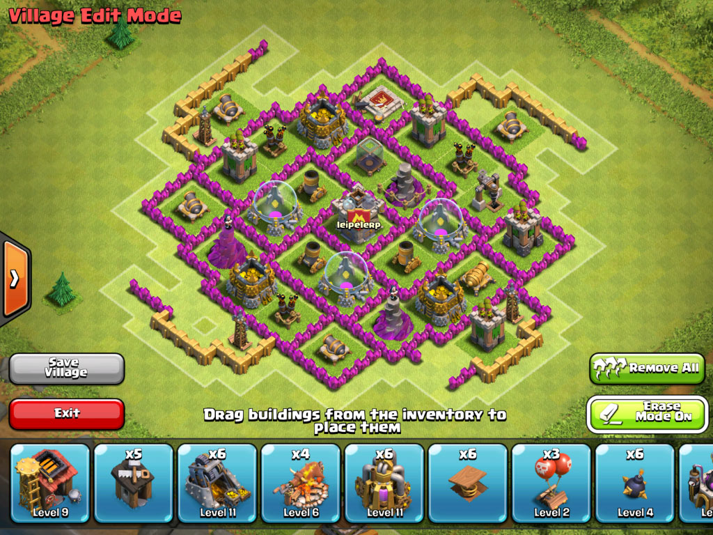 TH8 Base Inside buildings