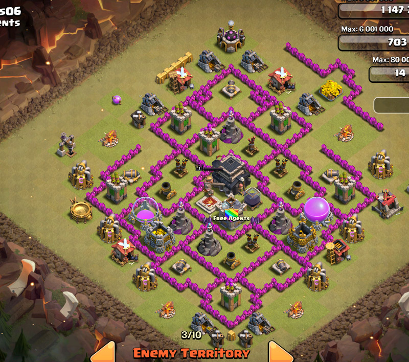 another rushed base