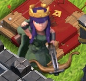 Archer Queen Level 10 -1 9