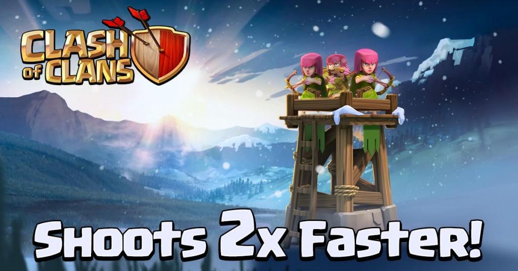 coc archer tower update