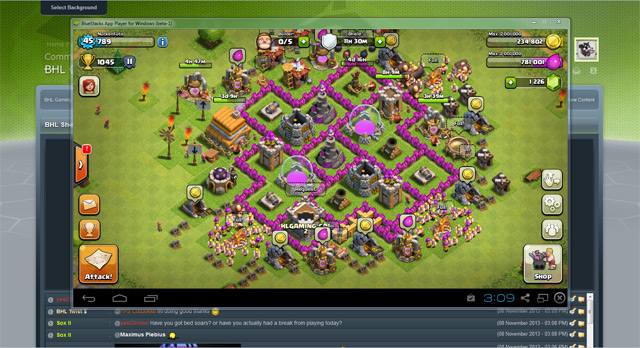 Clash Of Clans on PC with Bluestacks