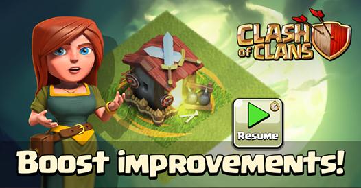 coc boost improvement