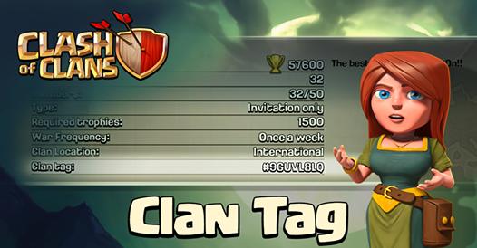 coc clan tag