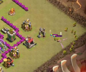 Kill the clan castle troops