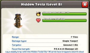 Hidden tesla level 8