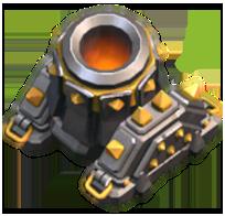 Mortar coc