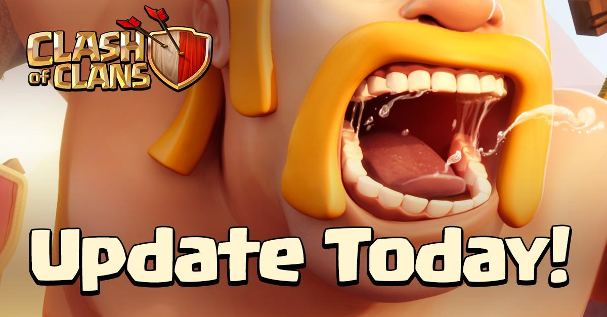clash of clans september update