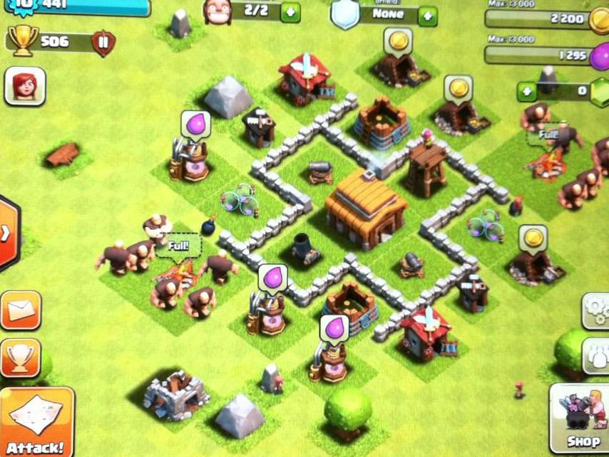 TH3 Clan War Base