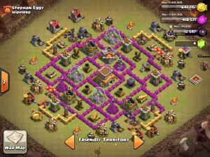 TH8 Clan War Base