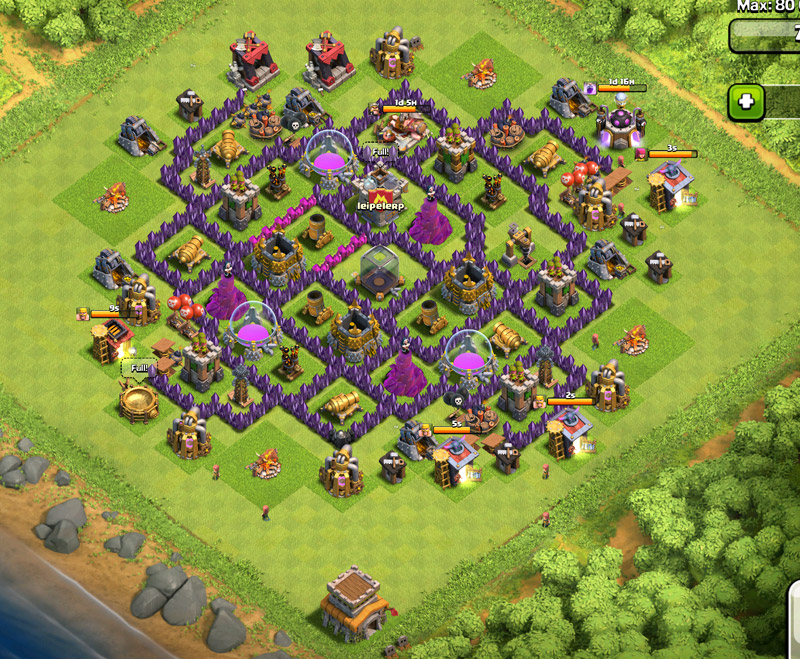 th8 well developed base
