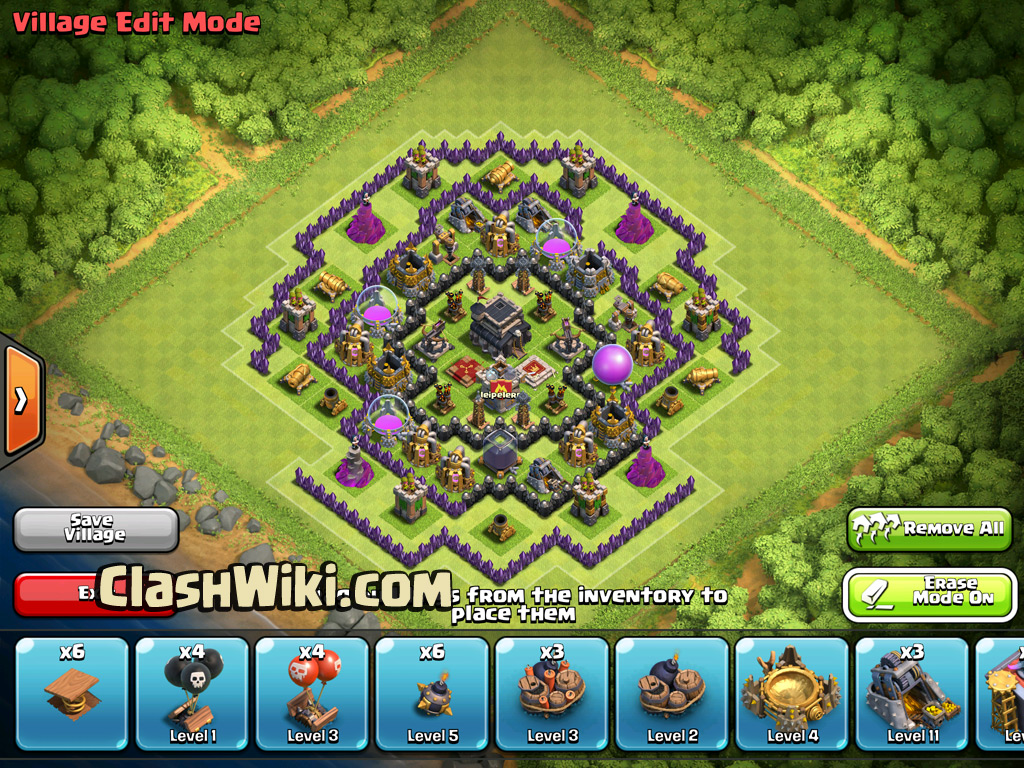TH9 defenses